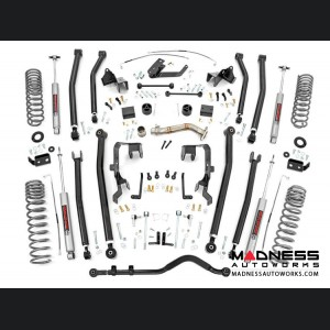"Jeep Wrangler JK Unlimited Long Arm Suspension Lift Kit - 4"" Lift"